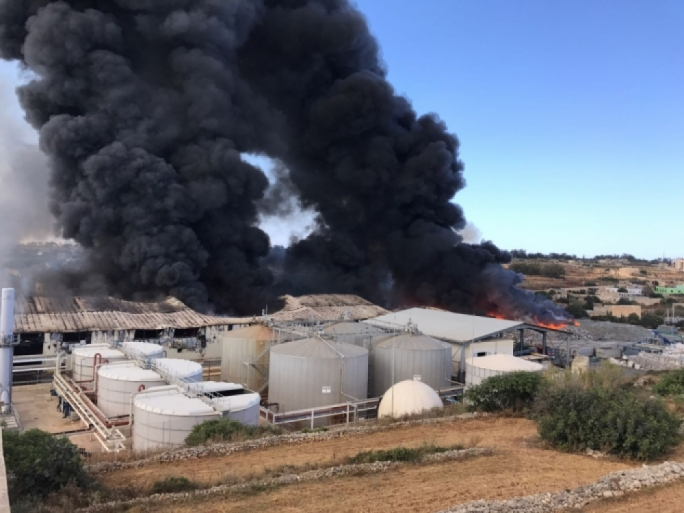 Inquiry into 2017 Sant' Antnin recycling plant fire still ongoing