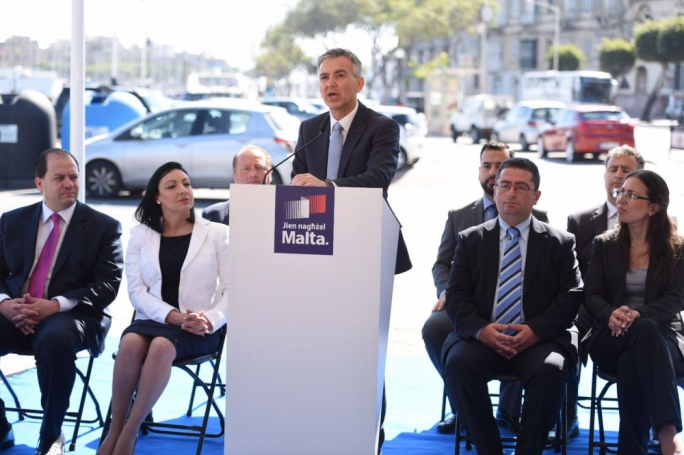 Simon Busuttil condemned Joseph Muscat's 'threat' to magistrate Aaron Bugeja. Photo: James Bianchi