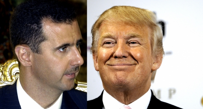 Bashar al-Assad said he is ready to cooperate with Donald Trump