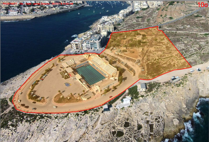 The area earmarked for the project at Zonqor