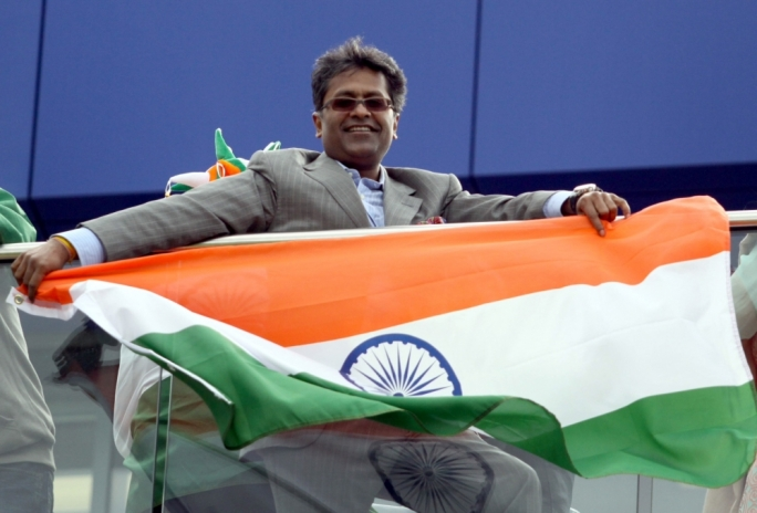 Lalit Modi, wanted over money laundering charges