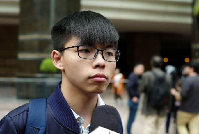 Activist Joshua Wong calls for Hong Kong leader Carrie Lam to resign