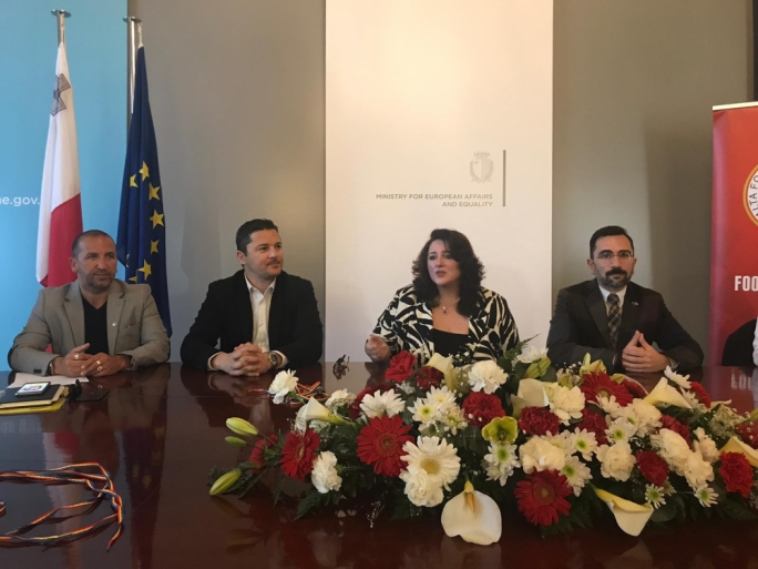 Helena Dalli: It's difficult to change people's mindsets and that is why the ministry has partnered with the MFA, since football is one of the most popular sports in Malta