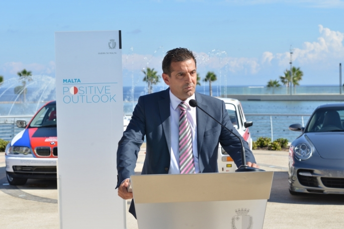 Parliamentary secretary Chris Agius