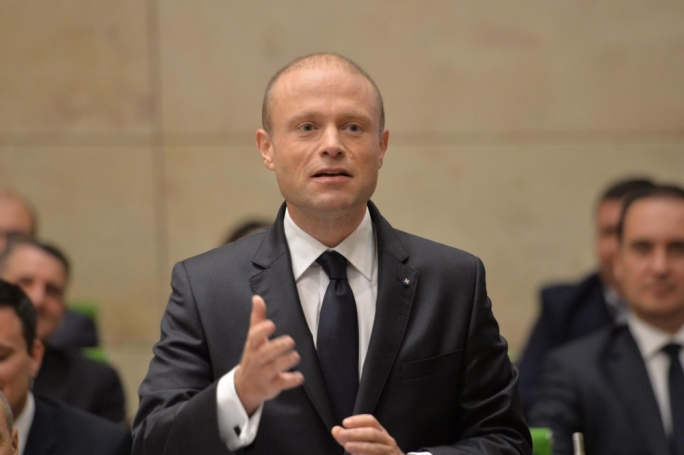 Joseph Muscat conducted his delivery with joviality and lightness, reserving an austere reaction to the Opposition's take on foreign workers and third-country nationals