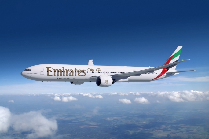 The additional Emirates flights to Dhaka will be operated by a Boeing 777-300ER