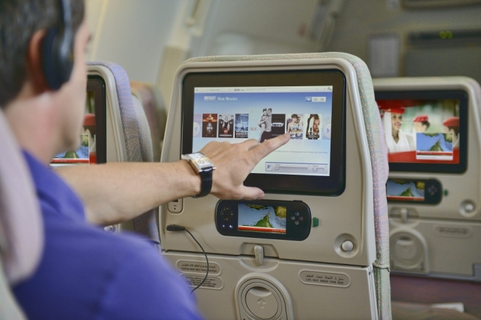 Emirates' passengers experience a wide range of products and services with over 2,000 free channels of films