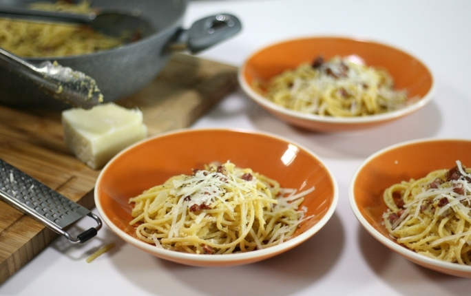 Back to the roots of the humble carbonara