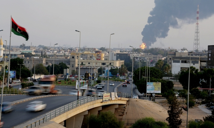 Unidentified jets attack targets in Tripoli