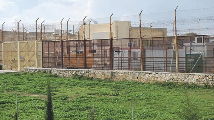 The Hal Safi detention centre