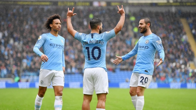 Manchester City thrash Cardiff City