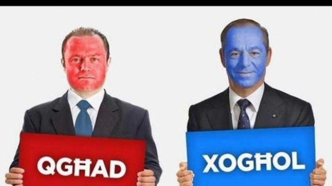 Joseph Muscat claimed that Simon Busuttil was the brains behind the PN's 2013 billboard