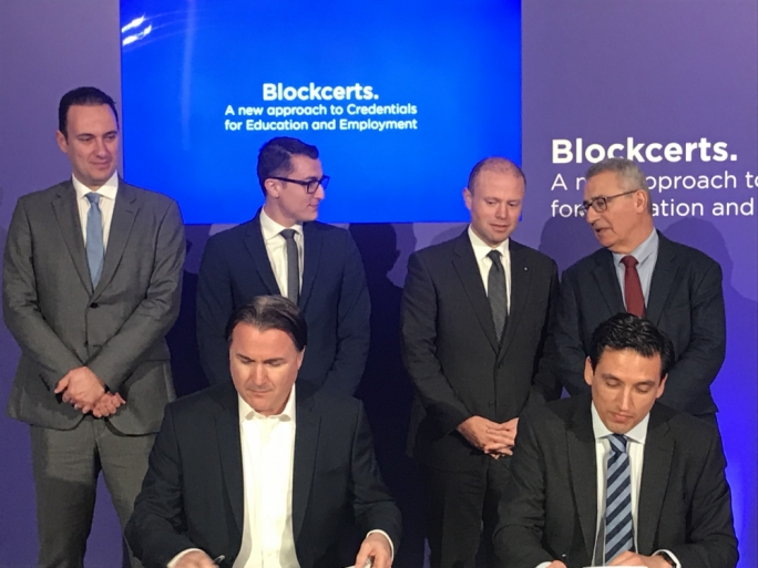 Government and Learning Machine have entered into a two-year contract to put education certificates on blockchain