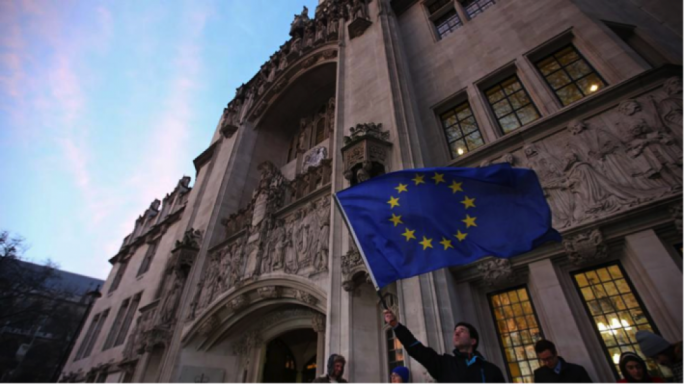 The top story for the day was the UK's Supreme Court ruling in favour of Parliament having the final say on Brexit