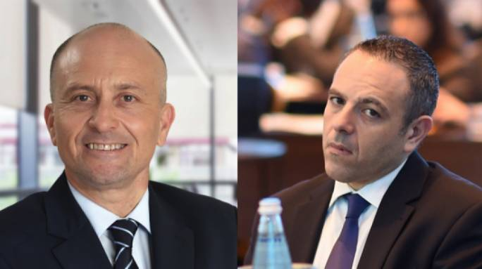 Brian Tonna and Keith Schembri
