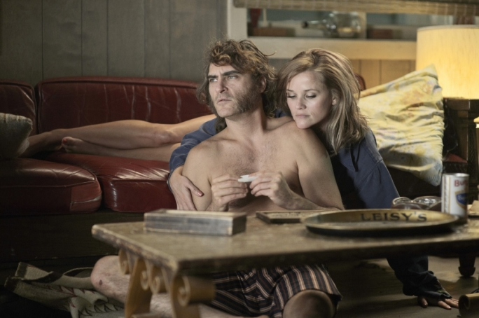 Through a haze darkly: Joaquin Phoenix and Reece Witherspoon stew their nerves in the contradictory 'paranoid chill' that characterises Paul Thomas Anderson's adaptation of Thomas Pynchon's cult novel
