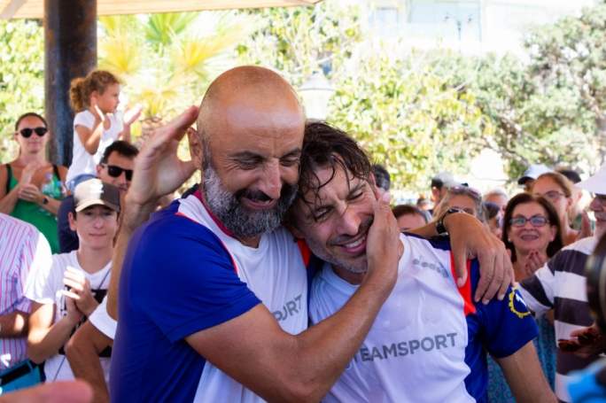 Athletes' historic coastline run raises €50,000 for migrant children's education