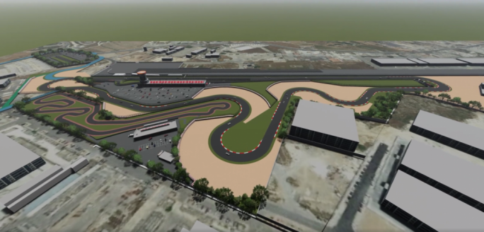 Periti Studio drew up unsolicited designs for a racetrack in the vicinity of the Hal Far raceway