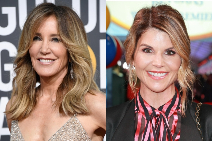 Felicity Huffman (left) and Lori Loughlin (right)