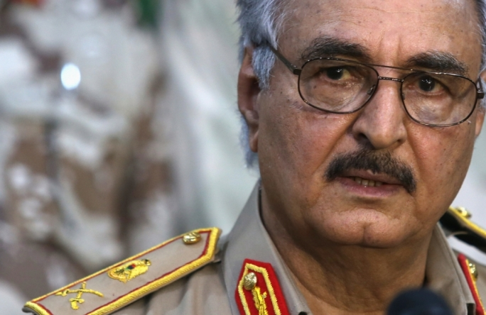 Vella dubs maverick Libyan general 'elephant in the room'
