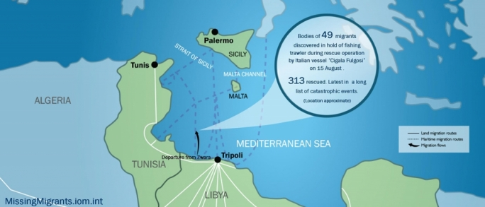Mediterranean migrants died from poisonous fumes: IOM