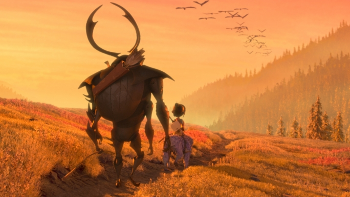 To Boldly Go: Kubo and company make way in one of the many lavish vistas crafted by Laika and its army of animators