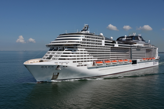 MSC Meraviglia will be the first MSC cruise liner to fly the Maltese flag