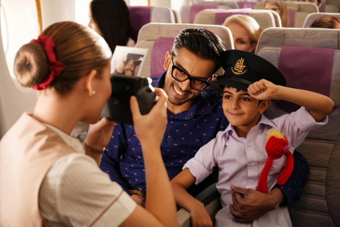 Emirates celebrate family commitment, carrying 2 million children last year