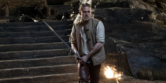 Le morte parkour: Charlie Hunnam takes the lead in Guy Ritchie's dismally misguided take on the Arthurian myth