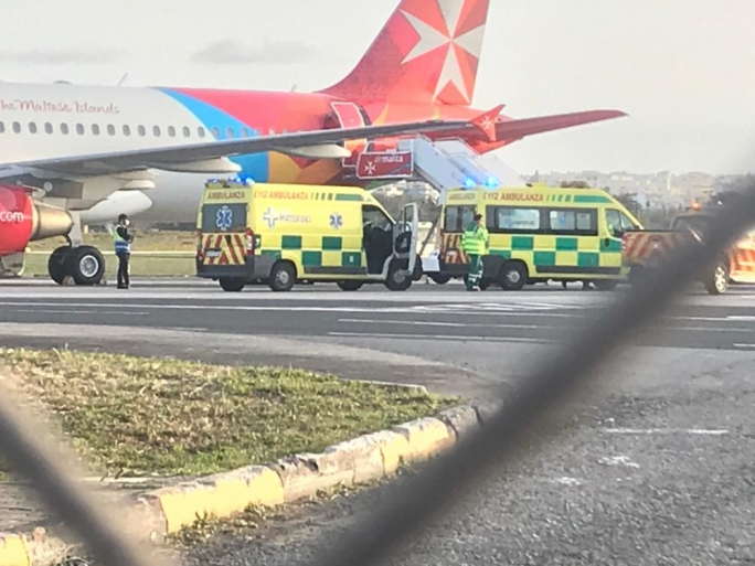 Air Malta flight from Gatwick reports 'medical occurence'