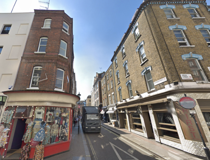 The houses in Soho and Mayfair were purchased through two offshore companies