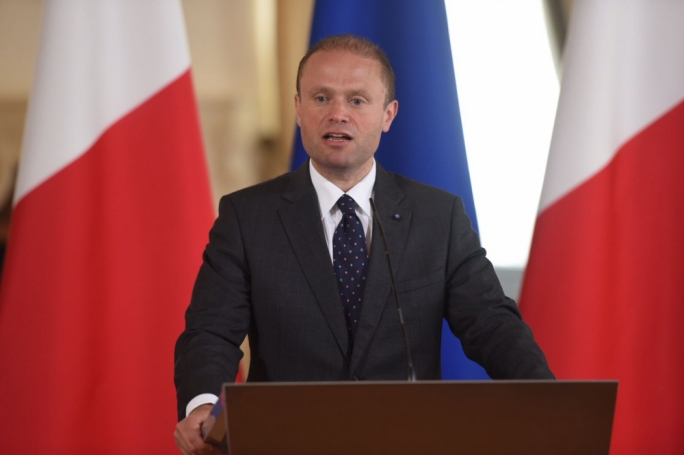 Prime Minister Joseph Muscat announcing Cabinet of Ministers (Photo: James Bianchi/MediaToday)