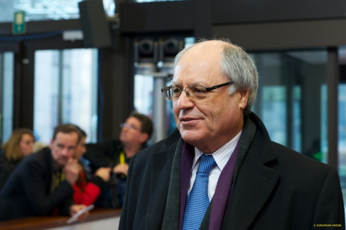Finance Minister Edward Scicluna at the Eurogroup meeting