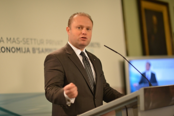 Prime Minister Joseph Muscat (Photo Ray Attard)