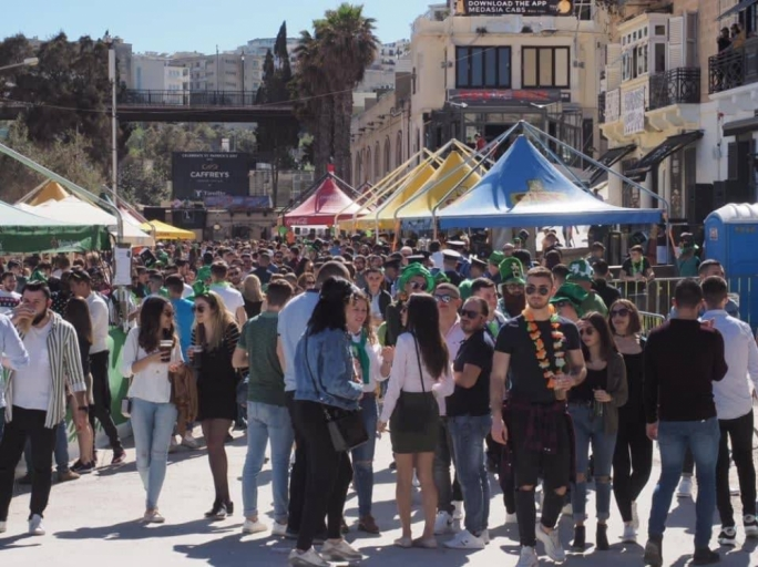 St Patrick's Day proves popular once again
