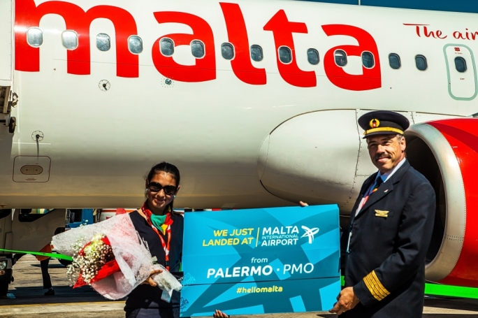 Air Malta is now flying to Palermo