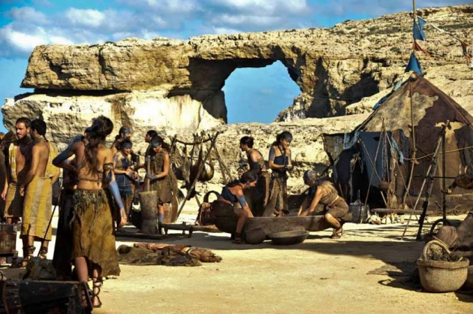 Dothraki by the Azure Window: an environmental fiasco had sent Game of Thrones away from Malta in 2010, its corresponding locations swapped with Croatia for subsequent seasons of the HBO show