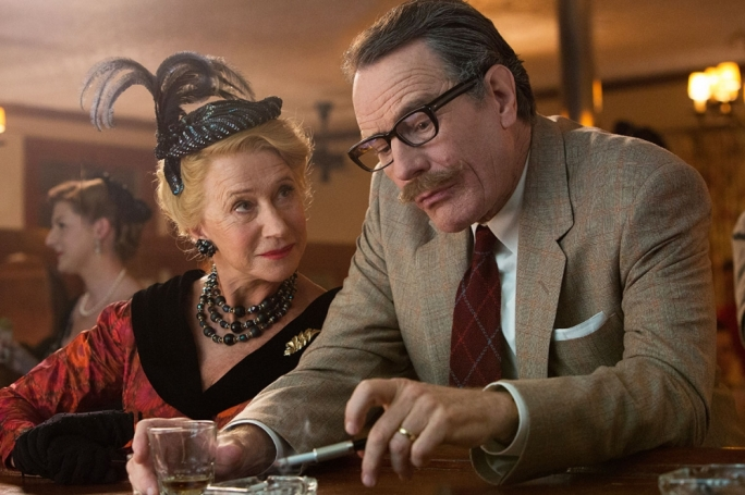 Poison pen: Helen Mirren and Bryan Cranston play rivals in this satisfying Hollywood blacklist comedy-drama