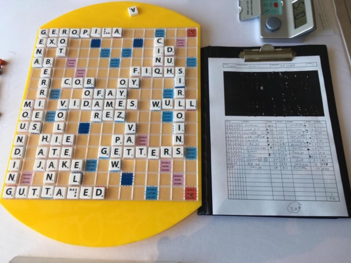 'Geropiga' for 88 points… players score world Scrabble record in Malta Open