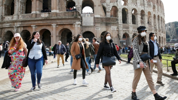 Italy is struggling to contain the coronavirus outbreak as it starts moving south