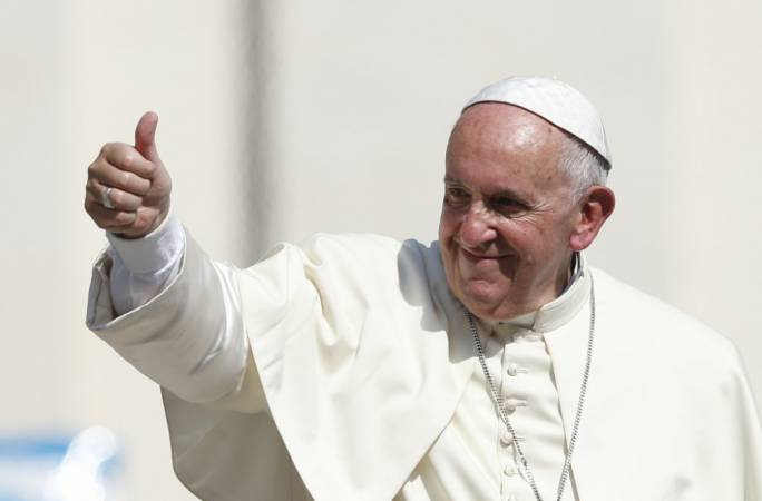 Pope Francis calls for civil union law for same-sex couples