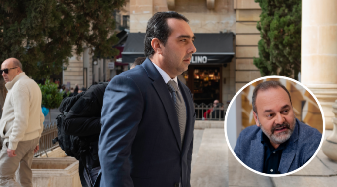 Middleman Melvin Theuma (pictured) told the court that Mario Degiorgio and his brothers, accused of executing Daphne Caruana Galizia's murder, had reached out to Chris Cardona (inset) for a bail request, which the former minister ignored