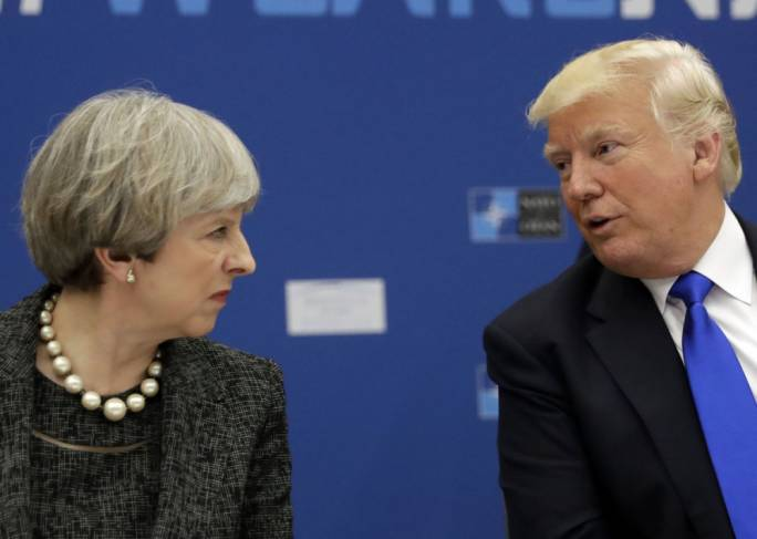 Donald Trump's visit to the UK is back on and will take place later this year (Photo: Ravalli Republic)