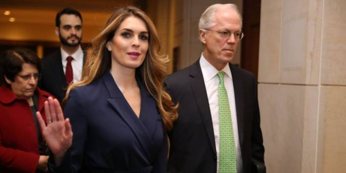 Hope Hicks has been one of Trump's longest-serving advisers (Photo: Business Insider)