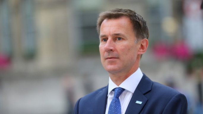 British foreign secretary Jeremy Hunt