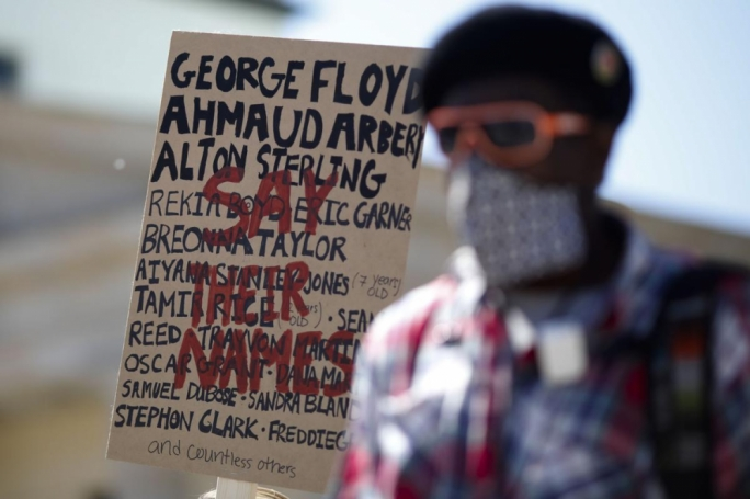 In more than 75 cities protests have taken place over what happened to George Floyd