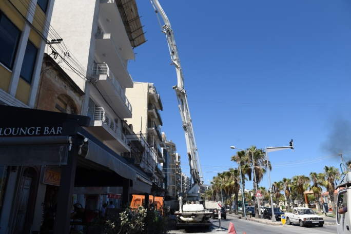 [WATCH] Walking in Gzira where construction noise persists throughout 'quiet' afternoons