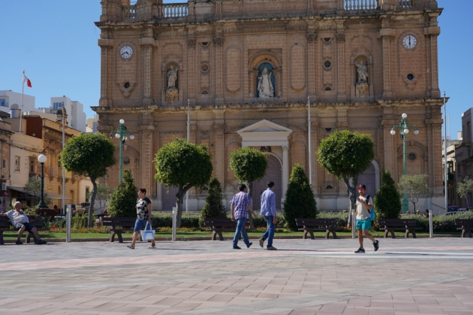 Half of Msida's population is foreign, pipping St Paul's Bay