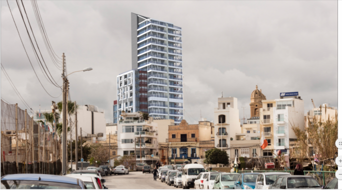 Just €2,807 for extra five storeys on Gzira tower