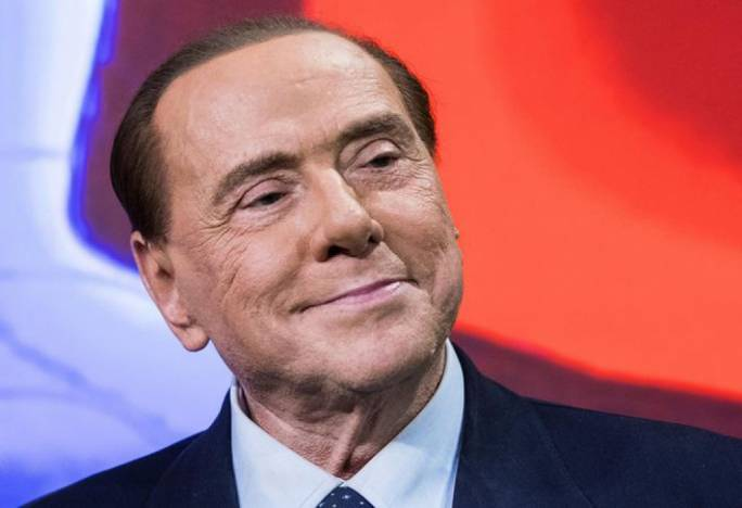 Many election analysts forsee a post-poll realignment in which Silvio Berlusconi (pictured) and the centre-left Democratic Party could join forces to form a coalition